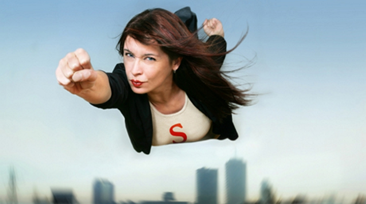 женщина 2.0, сильная женщина